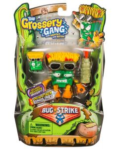 THE GROSSERY GANG S4 W1 BUG STRIKE ACTION FIGURE FUNGUS FRIES