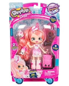 SHOPKINS SHOPPIES S8 W3 THEMED DOLL SINGLE PACK PINKIE COLA