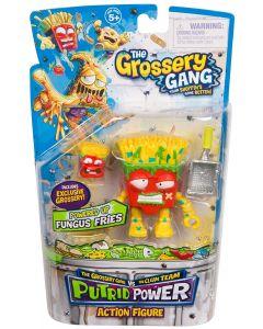 THE GROSSERY GANG S3 W2 PUTRID POWER FIGURE FUNGUS FRIES