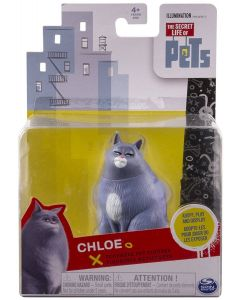 SECRET LIFE OF PETS POSEABLE PET FIGURE CHLOE