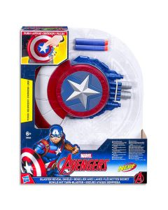 Marvel Avengers Captain America Blaster Reveal Shield