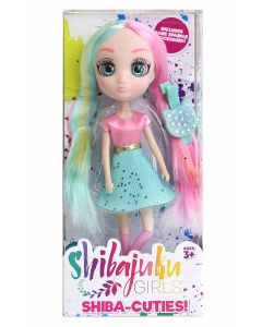 """SHIBAJUKU GIRLS 6"""" MINI DOLLS SHIBA-CUTIES (W2) SHIZUKA"""