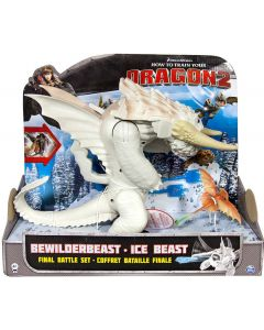 DREAMWORKS DRAGONS HTTYD2 BEWILDERBEAST ICE BEAST (WHITE)