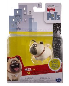 SECRET LIFE OF PETS POSEABLE PET FIGURE MEL