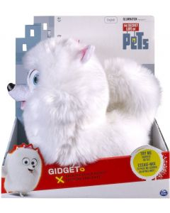 "SECRET LIFE OF PETS TALKING 12"" PLUSH BUDDY GIDGET"