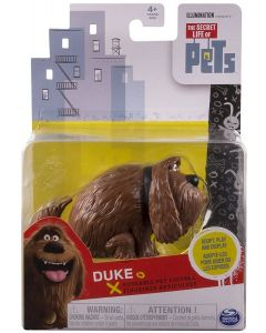 SECRET LIFE OF PETS POSEABLE PET FIGURE DUKE