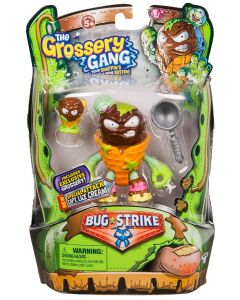 THE GROSSERY GANG S4 W2 BUG STRIKE ACTION FIGURE CAPTAIN LICE CREAM