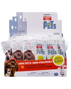 SECRET LIFE OF PETS S2 COLLECTIBLE MINI PET FIGURES CDU