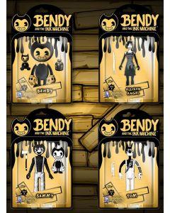 """BENDY 5"""" ACTION FIGURES (S2)"""