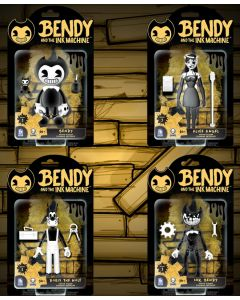 "BENDY 5"" ACTION FIGURES (S1)"