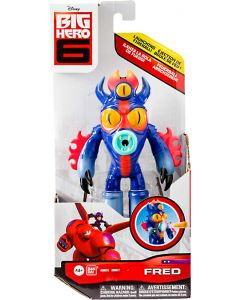 "BIG HERO 6 FEATURE FIGURES 6"" FRED"