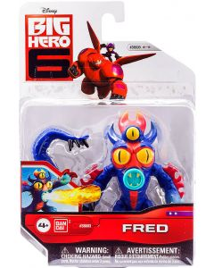BIG HERO 6 ACTION FIGURE FRED