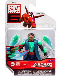 BIG HERO 6 ACTION FIGURE WASABI NO-GINGER