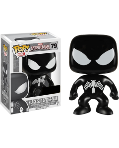 FUNKO POP! MARVEL: SPIDER-MAN VINYL BOBBLE-HEAD FIGURES - Black Suit Spider-Man