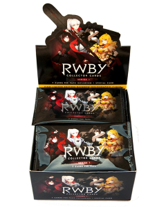 RWBY COLLECTOR CARDS SERIES 1 CDU (36 PACKS)