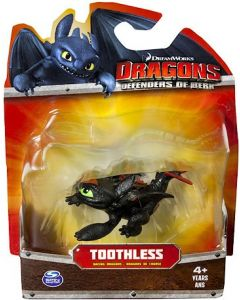DRAGONS DEFENDERS OF BERK MINI RACING DRAGON TOOTHLESS (LAYING)