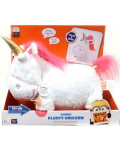 DESPICABLE ME 2 FEATURE PLUSH AGNES' FLUFFY UNICORN 14""