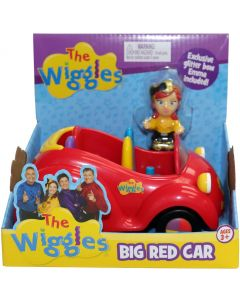 THE WIGGLES BIG RED CAR (Exclusive Glitter Bow Emma)