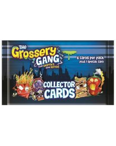THE GROSSERY GANG COLLECTOR CARDS CDU (36 PACKS)