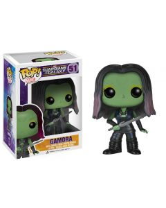 FUNKO POP! MARVEL GUARDIANS OF THE GALAXY VINYL BOBBLE-HEAD GAMORA