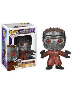 FUNKO POP! MARVEL GUARDIANS OF THE GALAXY VINYL BOBBLE-HEAD STAR-LORD