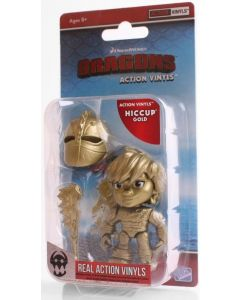 "HTTYD HUMANS W1 ACTION VINYLS 3"" HICCUP (GOLD)"