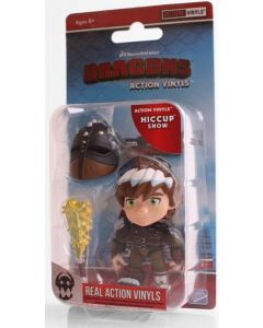 "HTTYD HUMANS W1 ACTION VINYLS 3"" HICCUP (SNOW)"