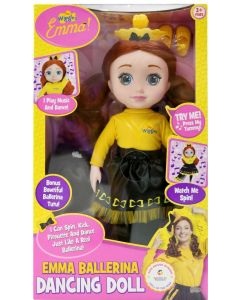 THE WIGGLES EMMA BALLERINA DANCING DOLL