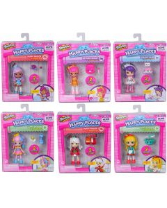 HAPPY PLACES S1 DOLL SINGLE PACKS SET OF 6