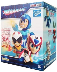 MEGAMAN WAVE 1 ACTION VINYLS