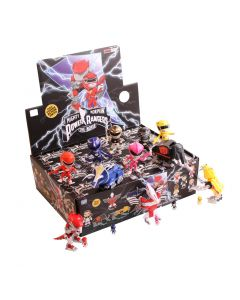MIGHTY MORPHIN POWER RANGERS WAVE 2 ACTION VINYLS PDQ CASE