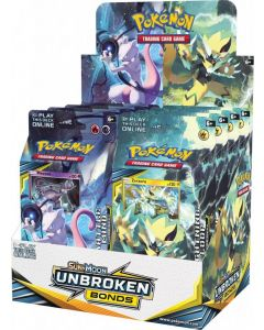 POKEMON TCG UNBROKEN BONDS THEME DECK DISPLAY