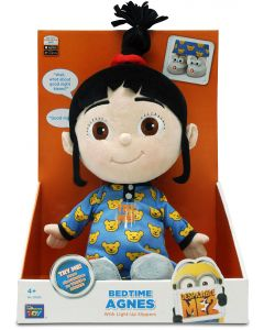 DESPICABLE ME 2 FEATURE PLUSH BEDTIME AGNES 12""