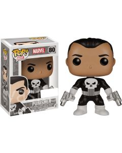 FUNKO POP! MARVEL: SPIDER-MAN VINYL BOBBLE-HEAD FIGURES - Punisher
