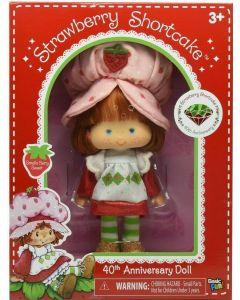 "STRAWBERRY SHORTCAKE 6"" CLASSIC RETRO 40TH ANNIVERSARY DOLL"