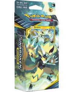POKEMON TCG UNBROKEN BONDS ZERAORA THEME DECK