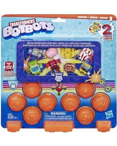 TRANSFORMERS TOYS BOTBOTS ARCADE RENEGADES SURPRISE 16 FIGURES PACK