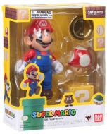 SUPER MARIO S.H.FIGUARTS MARIO ACTION FIGURE