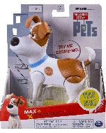 SECRET LIFE OF PETS WALKING TALKING PETS MAX